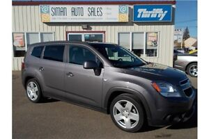 2012 Chevrolet Orlando LTZ LTZ*Leather*LOW KM*7 Passanger Regina Regina Area image 2