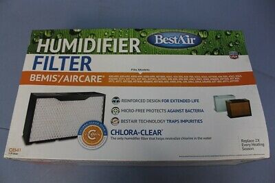 BestAir CB41 Essick 1041 Replacement Paper Wick Humidifier Filter 17