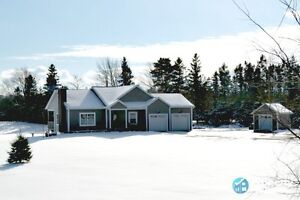 On 9.8 ac, 4 Bed/2.5 bath, 3400 sq ft & so much more!!