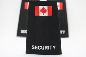 Security Epauletts For Duty Shirts