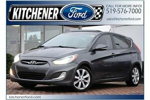 2012 Hyundai Accent SUNROOF/HEATED SEATS/PWR WINDOWS, LOCKS,...