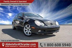 2004 Mercedes-Benz C-Class Sport w/- Bluetooth & Sun Roof