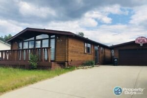 Character filled 4 bed/2.5 bath home in Grande Cache!