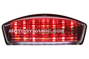 1994 - 2007 Buell S1 X1 M2 Blast Sequential LED Tail Light Smoke
