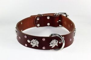 DECORATIVE REAL LEATHER COLLARS