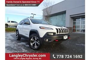 2016 Jeep Cherokee Trailhawk LOCALLY DRIVEN & ACCIDENT FREE