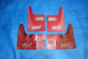 JDM Subaru Impreza STI GC8 GF8 OEM Optional Mud Flaps Splash Gu