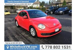 2013 Volkswagen Beetle 2.5L Fender Edition EXCELLENT CONDITIO...