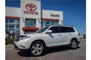 2012 Toyota Highlander V6 Limited+Leather+Navigation