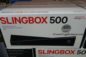 Slingbox 500 BRAND NEW home system from anywhere