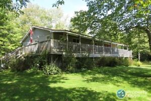 Along the Stewiacke River, 4 bed/2.5 bath on 12.37 acres