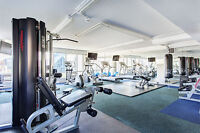 2 Bdr-1000 sqft, pool, gym, balcony, old port downtown Montreal