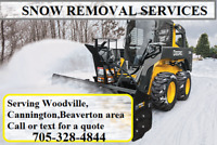 Christmas day snow removal services!