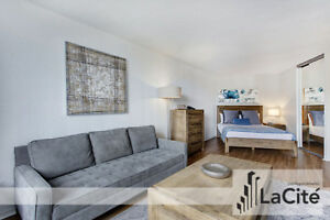 Furnished Studio in Montreal- Short Term Rental