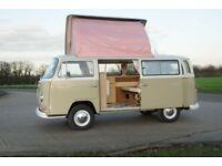 1972 VW T2 Early Bay Campervan - RHD, Tax Exempt, Restored.
