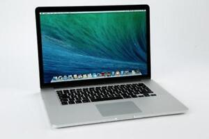 Macbook Pro 15 pouce retina intel core i7/8g/256g ssd 1199$