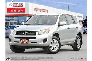 2012 Toyota RAV4 Base Competition Certified, One Owner, Toyot...