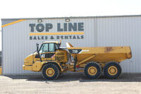 For Rent: 2008 Caterpillar 730