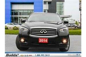 2014 Infiniti QX60 Base Safety and E-Tested.