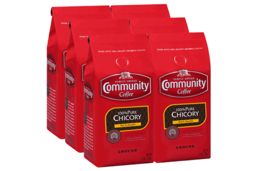 *SALE* Community Coffee Premium Ground 100% Chicory, 12 oz.,