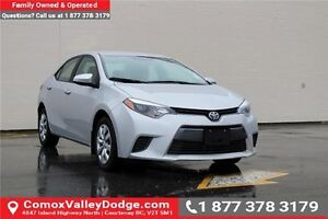 2015 Toyota Corolla LE HEATED FRONT SEATS, BACK UP CAMERA, BL...