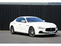 2014 Maserati Ghibli 3.0TD 274ps s/s Auto+FDSH+2 KEYS+1 YEAR MOT+RED LEATHER+PX+