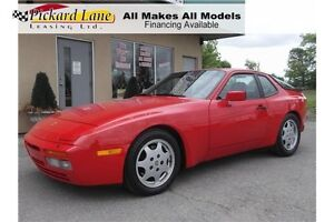 1989 Porsche 944 S2 WILL BE SOLD AT AUCTION