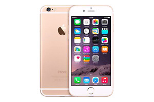 iPhone 6 16GB Gold Rogers/Fido works perfectly locked locked loc