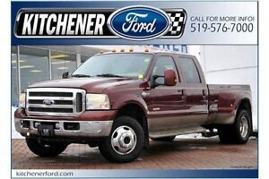 2006 Ford F-350 KING RANCH/4WD/DUALIES/LEATHER/LONG BOX/HTD M...