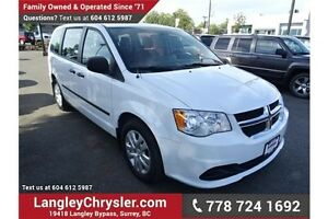 2014 Dodge Grand Caravan SE/SXT W/POWER GROUP,  A/C & Bluetooth