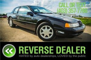 1990 Mercury Cougar XR7 ** LOW MILEAGE, LEATHER **