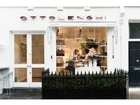 Ottolenghi Notting Hill is looking for FULL-TIME SHOP ASSISTANT/ SERVER