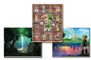 +Club Nintendo Legend of Zelda A Link Between Worlds 3 Posters +
