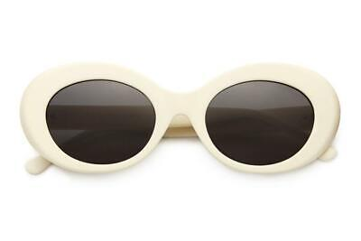 Crap Eyewear Sunglasses The Love Tempo Matte Eggshell White / Grey Lens