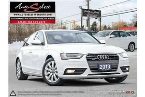 2013 Audi A4 Quattro AWD ONLY 75K! **LIGHTS PKG** CLEAN CARPROOF