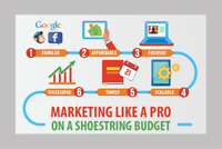 Small Business Websites & Marketing on a Shoestring Budget