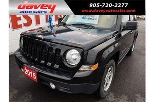 2015 Jeep Patriot Sport/North 4X4, CRUISE CONTROL, MP3 INPUT
