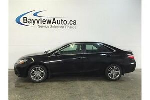 2015 Toyota CAMRY SE- ALLOYS! REVERSE CAM! CRUISE! BLUETOOTH!