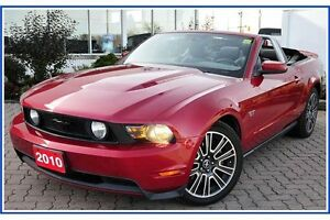 2010 Ford Mustang GT CONVERTIBLE!!/5 SPD/LEATHER/HTD SEATS/NA... Kitchener / Waterloo Kitchener Area image 2