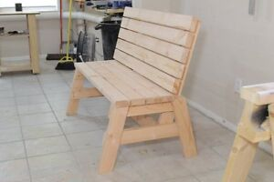 For Sale: Sturdy Wooden Bench
