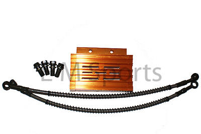 Chinese Dirt Pit Bike CNC Oil Cooler Radiator Apollo AGB-37CRF-2 Gold Parts