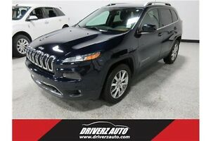 2014 Jeep Cherokee Limited NAV, SUNROOF, ACCIDENT FREE