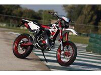*MOTORCYCLE* 2017 Plate Rieju MRT 50 SM Pro. Warranty. Free Delivery. Main Dealer.