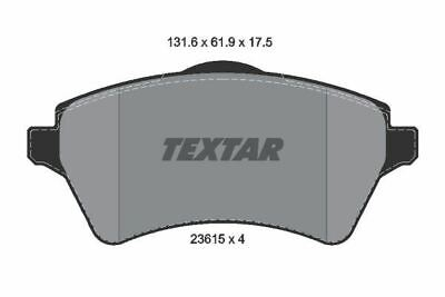 2361501 TEXTAR CAR BRAKE PADS Front comprar usado  Enviando para Brazil