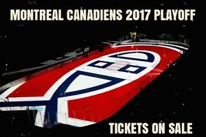 GET THEM NOW★★2017 MONTREAL CANADIENS PLAYOFFS TICKETS★★