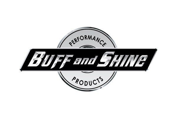 "Buff and Shine  7-1/2"" Wool Hook and Loop Grip Buffing Pad"