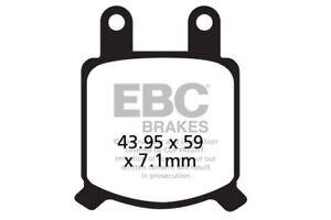 FIT GMA AFTERMARKET CALIPER 2 Piston (small) calip  EBC FRONT ORGANIC BRAKE PADS