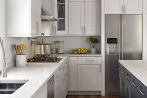 fancy Step Shaker White kitchen on Promotion now!!!
