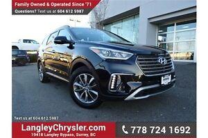 2017 Hyundai Santa Fe XL Luxury LOCALLY DRIVEN & ACCIDENT FREE