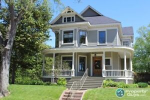 Century home at its best! Central location to the downtown